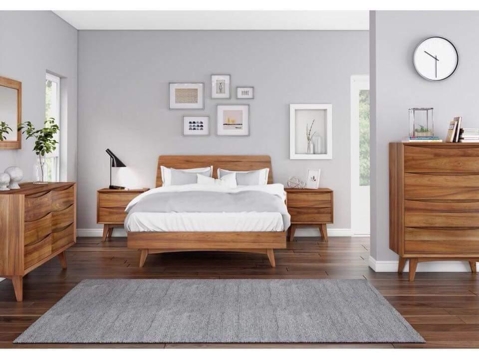 Giường gỗ tự nhiên - 04